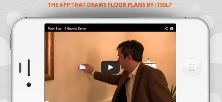RoomScan Pro per sviluppare planimetrie in maniera automatica